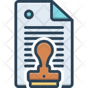 Permission Authorization Permit Icon