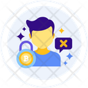 Permissionless Blockchain Trading Not Accessable Trading Not Access Icon