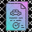 Control Permit Evacuate Icon