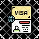 Permit Visa Icon