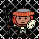 Warrior Persia Ancient Icon
