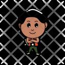 Vector Cartoon Illustration Icon