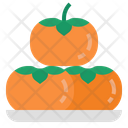 Persimmon Fruit Sweet Icon