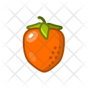 Persimmon Fruits Fruite Icon