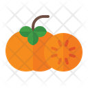 Persimmon Organic Vegetarian Icon