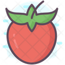 Persimmon Fruit Fruit Nutrition Icon