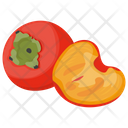 Persimmons Japanese Fruit Berry Fruit Icon