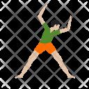 Person Exercising Icon