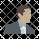 Person Broker Head Icon