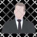 Person Attorney Boss Icon