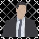 Person Attorney Businessman Icon