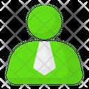 Person Businessman Profile Icon