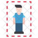 Person Lineal Distance Icon