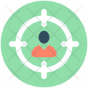 Person Target Focus Icon