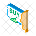 Person Buyer Broker Icon
