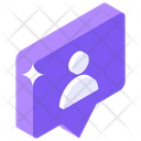 User Chat Personal Communication Personal Message Icon