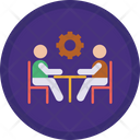 Person Configuration Business Meeting Meeting Icon
