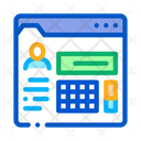 Person Information Folder Icon