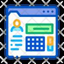 Person Information Folder Icon