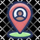 Person Location Search Location Location Icon