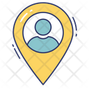 Person Location Location Position Icon
