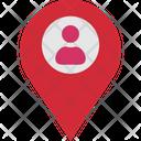 Person Location Icon