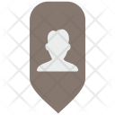 Person Place Map Icon