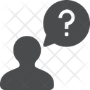 User Question Sign Doubt User Doubt Icon