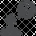 Person Question Icon