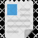 Cv Profile Curriculum Icon