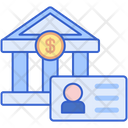 Personal Bank Account Icon