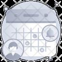 Personal Notification Agenda Personal Calendar Icon
