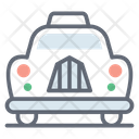 Personal Car Taxi Cab Icon