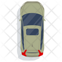 Personal Car Transport Cab Icon