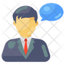 Speech Personal Chat Communication Icon