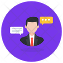 Personal Communication Conversation Discussion Icon