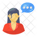 Personal Communication Personal Conversation Personal Discussion Icon