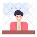 Personal Communication Personal Communication Personal Conversation Discussion Chatting Negotiation Icon