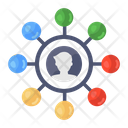 User Network User Connections Affiliate Network Icon