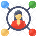 Personal Connections Personal Network Client Network Icon