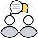 Account Connection Conversation Icon