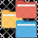 Personal Data Data Privacy Data Folders Icon