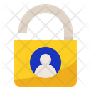 Personal Data Lock Icon