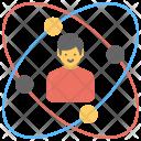 Personal Development Molecule Icon
