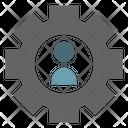 Personal Development Team Management Individual Icon