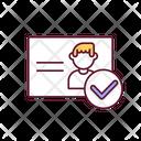 Document Identification Information Icon