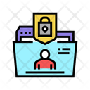 Personal Folder Protection Data Personal Icon