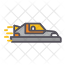 Personal Hovercar Car Vehicle Icon