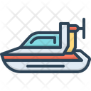 Personal Hovercraft Hover Bike Icon