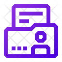 Businnes Commerce Personal Information Icon